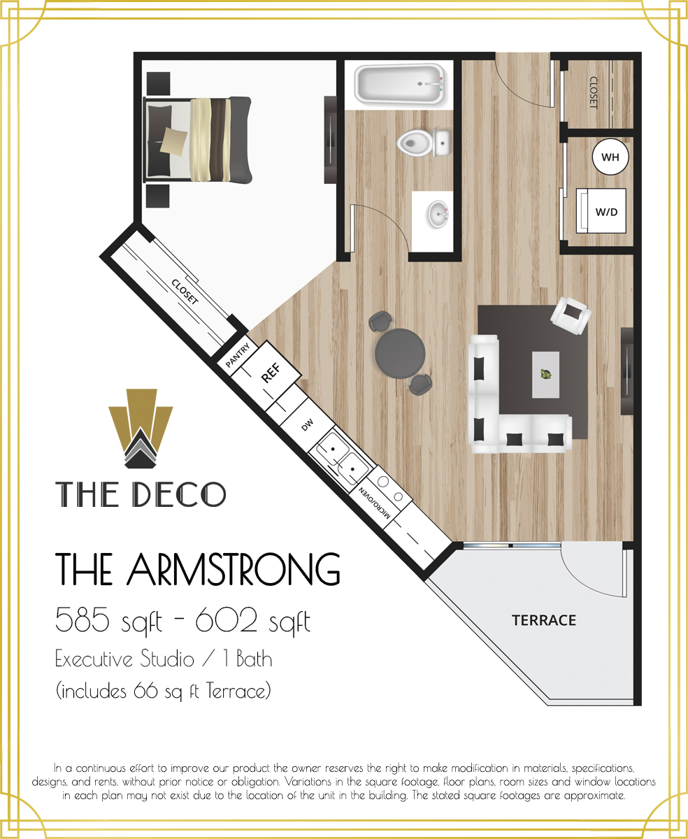 The Deco Armstrong Residences Floor Plan